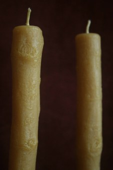 Oak Stick Candles at Oakland Museum Shop